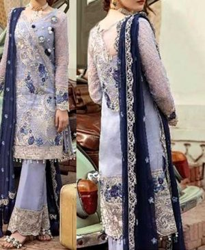Chiffon Dress Premium Embroidery With Aplic Dupatta DM IMRZ 629.jpg