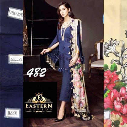 Cotton Net Dress With Digital Silk Dupatta Lawn Trouser DM SA 482.jpg