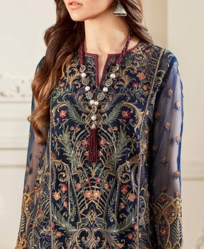 Embroidered Chiffon Dress With Embroidered Trouser DM BAR 590 1.jpg