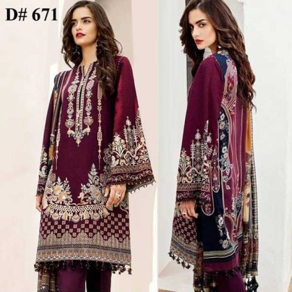 Embroidered Lawn Suit Printed Chiffon Dupatta Lawn Trouser DM BAR 671 1 1.jpg