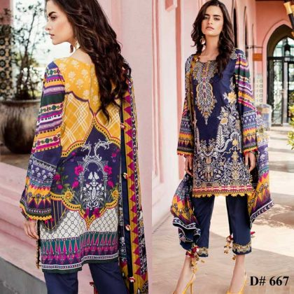 Embroidered Lawn Suit With Chiffon Dupatta Lawn Trouser DM BAR 667.jpg