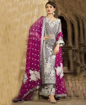 Embroidered Net Suits Dori Work DM ZC 585.jpg