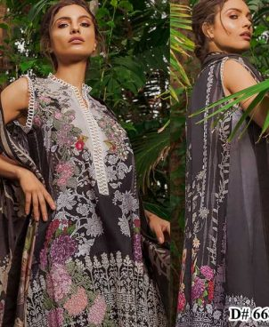 Embroidery Lawn Printed Suit With Chiffon Dupatta DM SN 668 B.jpg