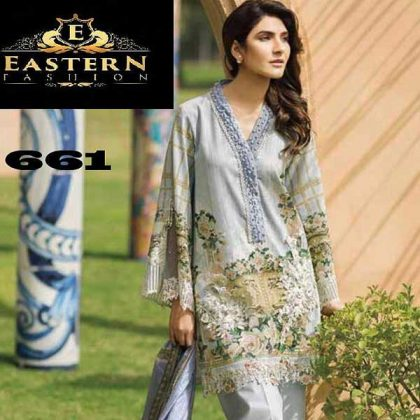 Embroidery Lawn Suit Printed With Lace Embroidery Work DM FL 661 1.jpg