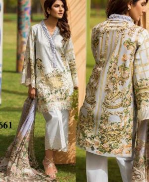 Embroidery Lawn Suit Printed With Lace Embroidery Work DM FL 661.jpg