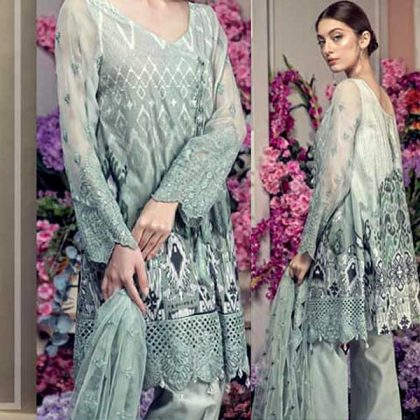 Fancy Lawn Suit With Embroidered Net Dupatta DM AAY 611 B 1.jpg