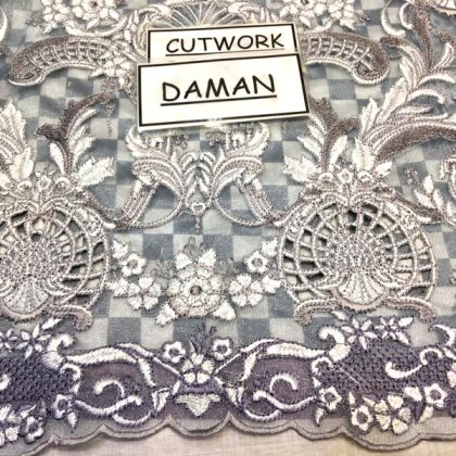 Front Back Printed Lawn Daman Lace Embroidery Cutwork DM AAY 622 A 2.jpg