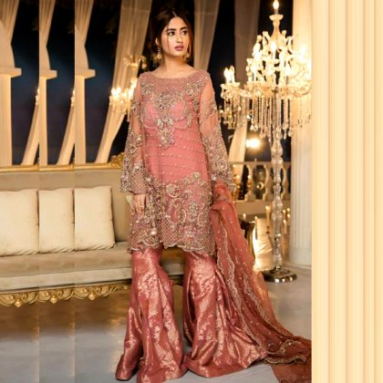 Full Chiffon Heavy Embroidered With Banarsi Trouser DM MB 330.jpg