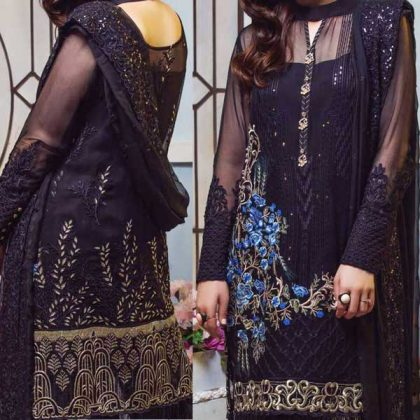 Full Embroidered Chiffon With Net Dupatta Lace Embroidery Trouser DM IMRZ 518 1.jpg