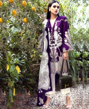Lawn Front Back Embroidery Printed Suit DM SS 611 1.jpg