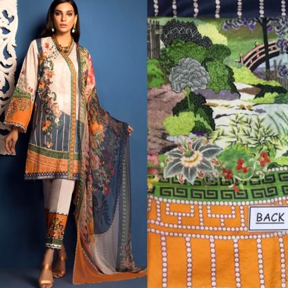 Lawn Front Printed With Front Bunch Embroidered DM SL 616.jpg