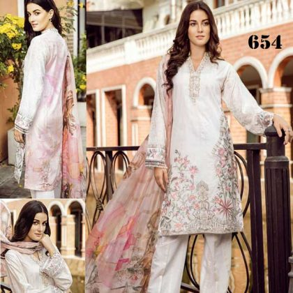 Lawn Suit With Chiffon Dupatta Embroidered Chiffon Sleeves DM IZN 654.jpg