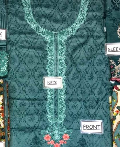 Lawn Suit With Net Dupatta Printed Cambric Trouser DM MB 631 A 4.jpg