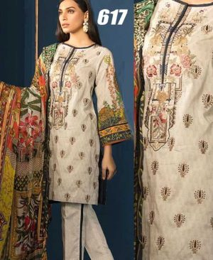 Lawn With Chiffon Dupatta Front Full Printed Printed Trouser DM SL 617.jpg