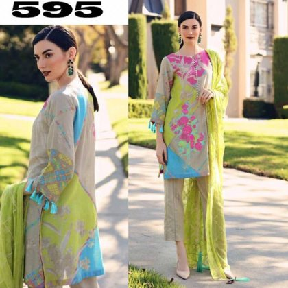 Printed Lawn Suit With Printed Chiffon Dupatta DM CHAR 595.jpg