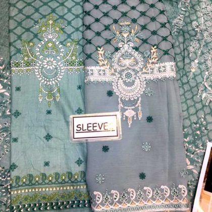 Printed Lawn With Chiffon Dupatta Printed Sleeves Trouser DM MB 628 B 2.jpg