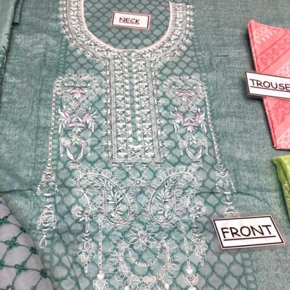 Printed Lawn With Chiffon Dupatta Printed Sleeves Trouser DM MB 628 B3.jpg