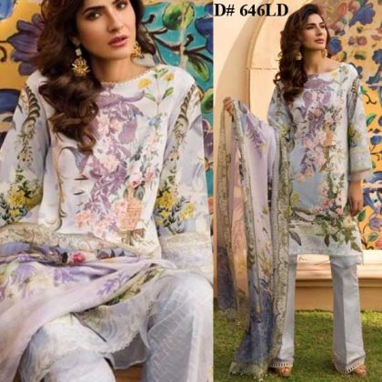 Special Deal Of 3 Embroidery Lawn Suits 2019 Design 646LD.jpg
