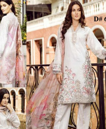 Special Deal Of 3 Embroidery Lawn Suits 2019 Design 654.jpg