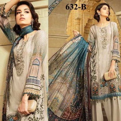 Special Summer Offer Pack Of 3 Embroidery Lawn Suits 2019 Design 632 B.jpg