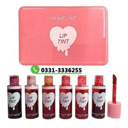 Pack Of 6 Pieces Lip Tint   Waterproof Long Lasting Matte Liquid Hot Lipsticks 1