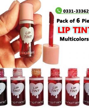 Pack Of 6 Pieces Lip Tint   Waterproof Long Lasting Matte Liquid Hot Lipsticks