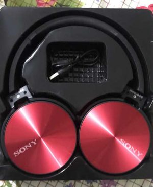 Wireless Metal Bluetooth Luxury Version Sony Headphone V4.2 (Limited Edition)