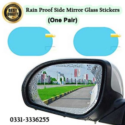 Anti Fog And Rain Proof Side Mirror Glass Stickers For Car 3