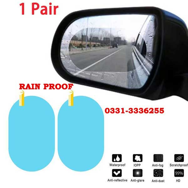 Anti Fog And Rain Proof Side Mirror Glass Stickers For Car