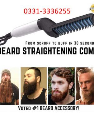Beard Straightener Multifunctional Electric Quick Hair Curler