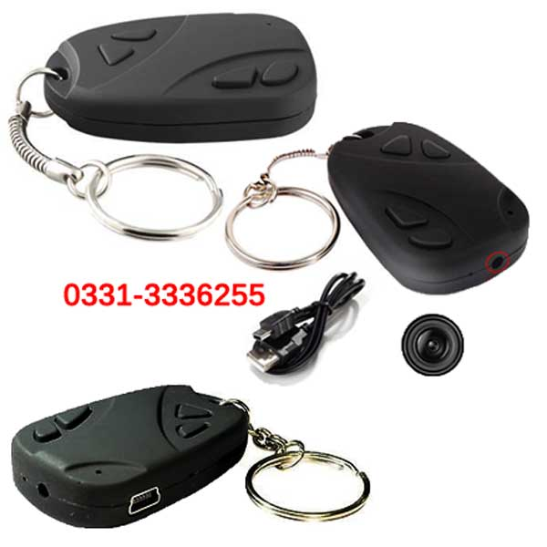 Keychain Camera With Audio Video Recorder And Take Pictures 1
