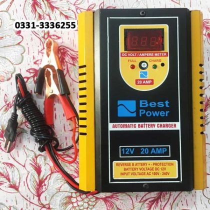 Full Automatic Battery Charger Microprocessor Technology 12 V 20 Amp 1