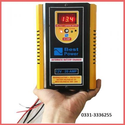 Full Automatic Battery Charger Microprocessor Technology 12 V 20 Amp 3