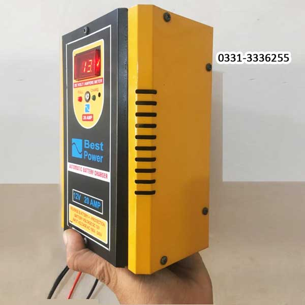 Full Automatic Battery Charger Microprocessor Technology 12 V 20 Amp 4