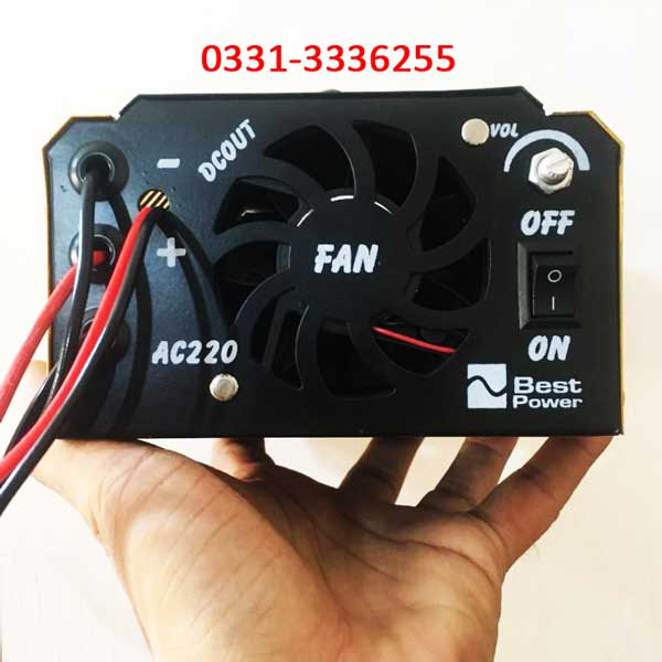 Full Automatic Battery Charger Microprocessor Technology 12 V 20 Amp 5s