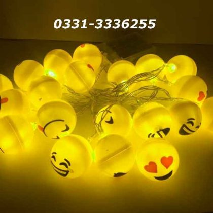 Emoji LED String Light   20 LED Emoji   3 Metter Length 2