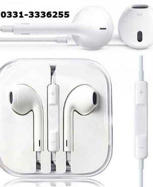 High Quality Stereo Handsfree   White 1