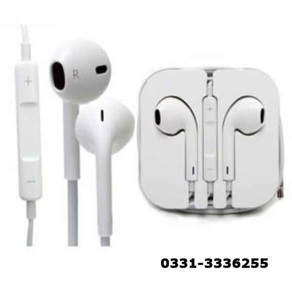 High Quality Stereo Handsfree   White